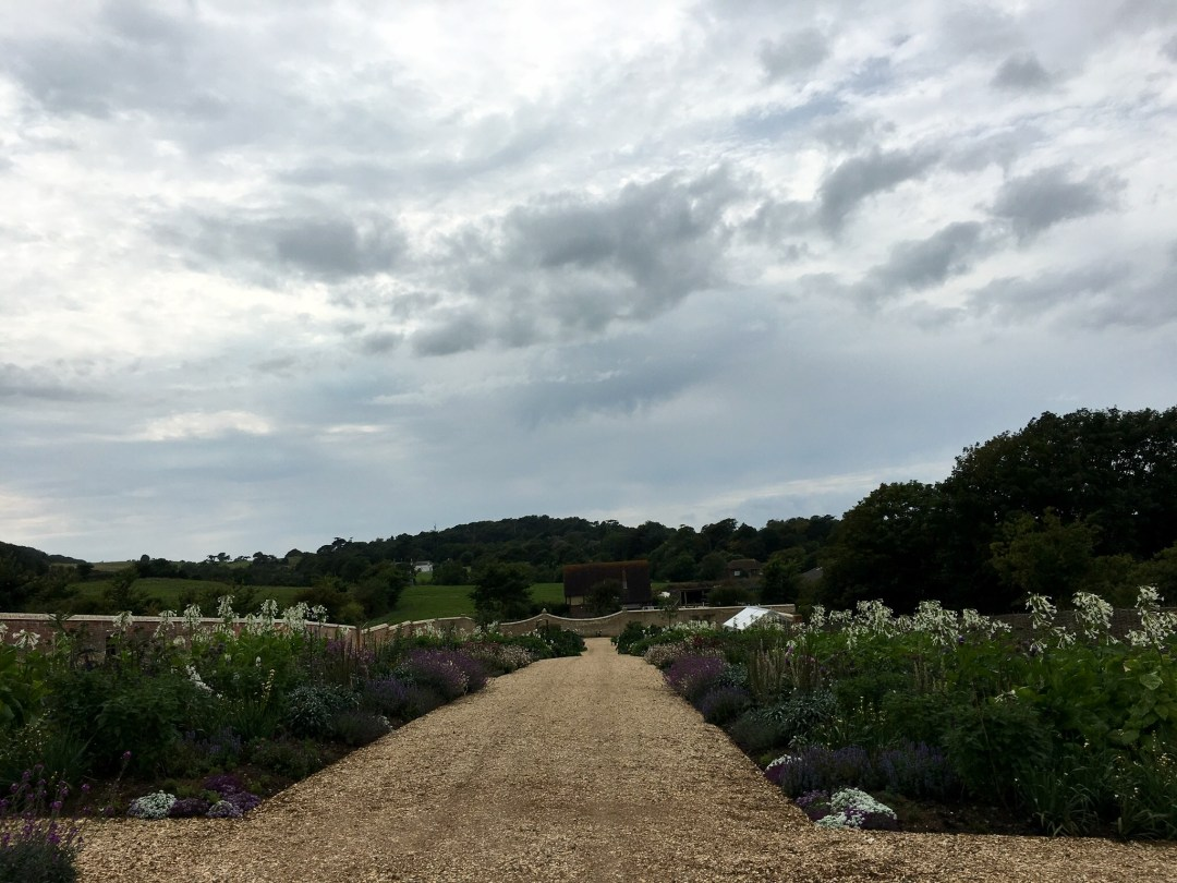 The walled garden at Farringford