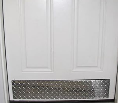 chair protector covers cane chairs new zealand chequer plate applications: wall corner guards, elevator flooring, treads covers, grating nosing ...
