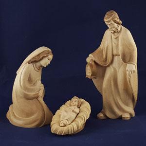 Statuine presepe legno val gardena  Vendita presepi artigianali online  Cheregali