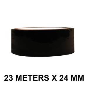 "Black Floor Marking Tape - 24mm / 01"" Width"