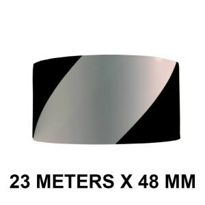 "Black and White Floor Marking Tape - 48mm / 02"" Width"