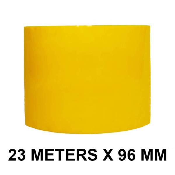 """Yellow Floor Marking Tape - 96mm / 04"""" Width"""