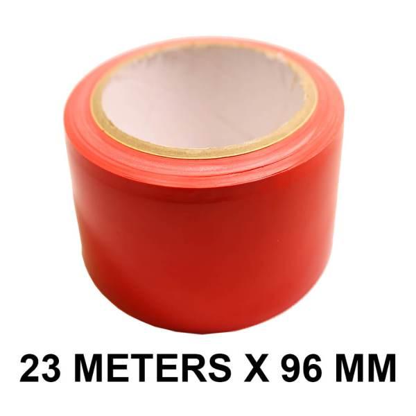 """Red Floor Marking Tape - 96mm / 04"""" Width"""