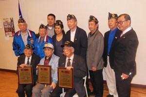 Recipients Robert C. Hong, William S. Wong, Arthur Y. Wong