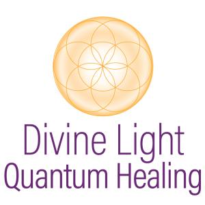DIVINE LIGHT QUANTUM HEALING LOGO