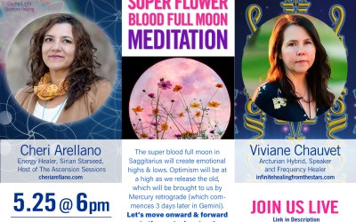 Super Flower Blood Full Moon Meditation