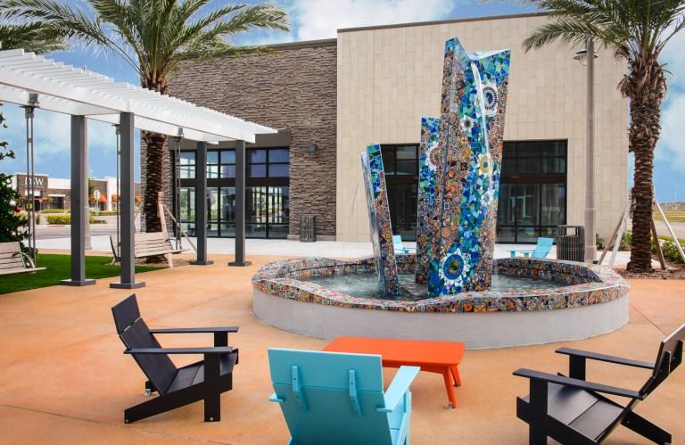 Tomoka Town Center Fountain | Daytona Beach, FL