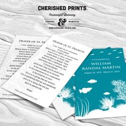 Coral Reef Prayer Card
