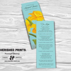Daffodils Bookmark