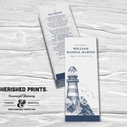 Lighthouse Bookmark