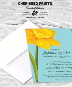 Daffodils Invitation