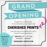 Cherished Prints to Launch New Website