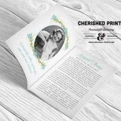 Multi-Page Funeral Programs & Booklets