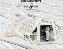 Vintage Airplanes Prayer Cards, Prayer Cards, Memorial Cards, Funeral Cards, Personalized Printable Cards, Stationery, Remembrance
