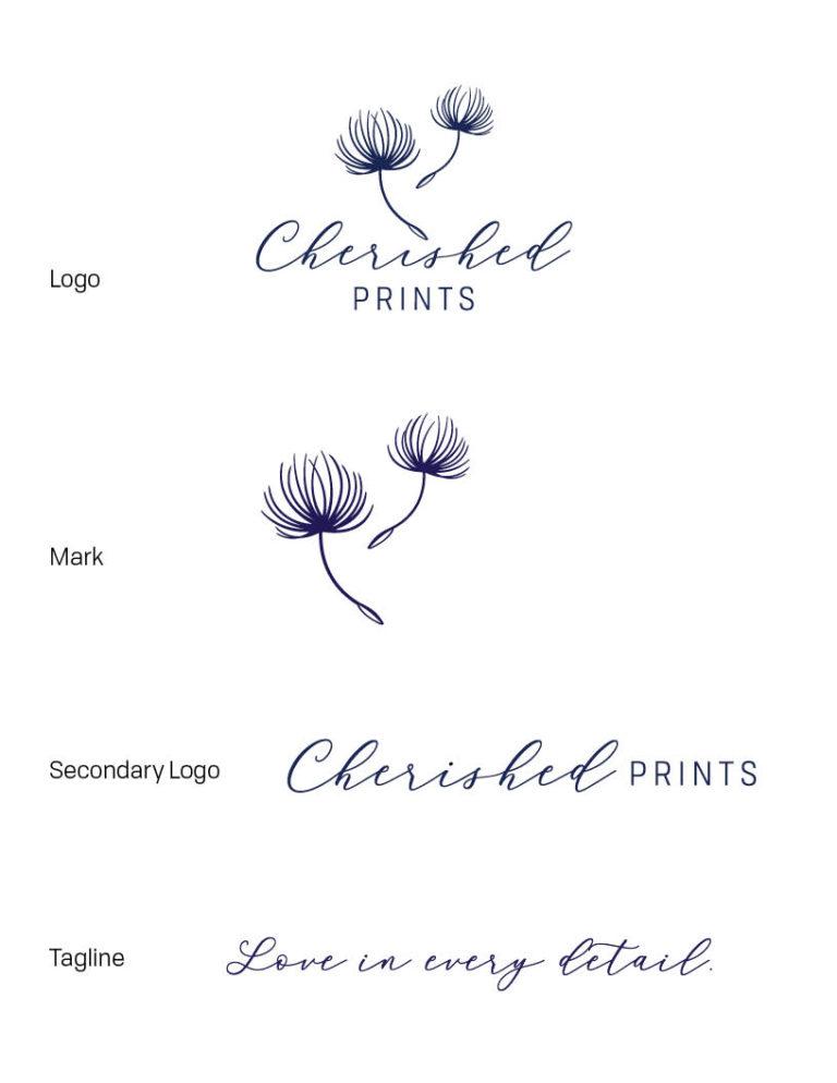 Cherished Prints Rebrands • Cherished Prints