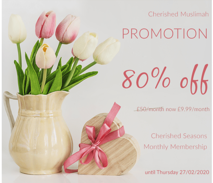 Cherished Seasons Promotion
