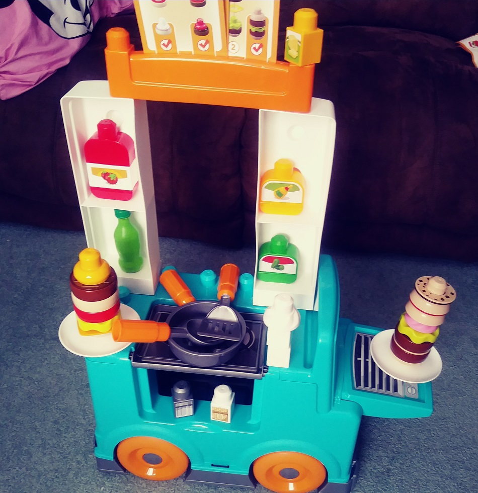 Mega Bloks Food Truck Kitchen Fisher Price