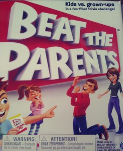 Beat the Parents fun family trivia board game