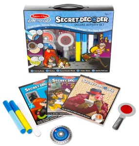 Secret decoder activity sets