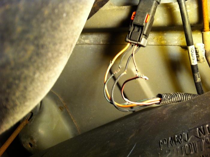 Jeep Fuel Gauge Wiring