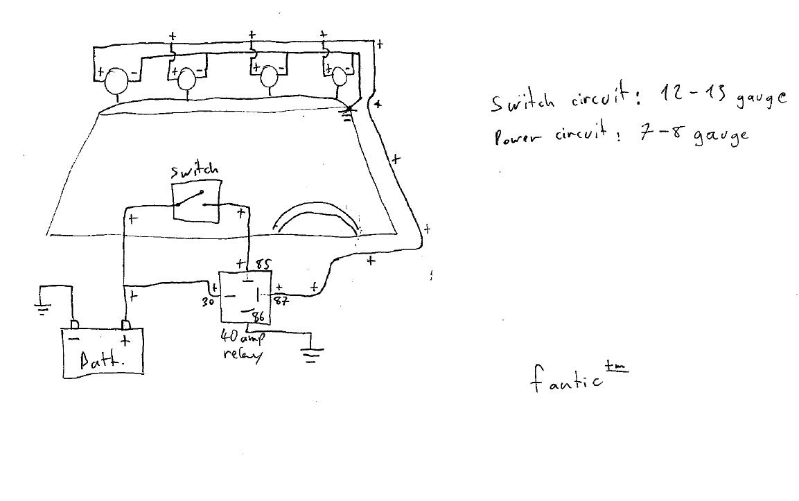 wiring diagram driving lights hilux bulldog wire diagram 2517, Wiring diagram