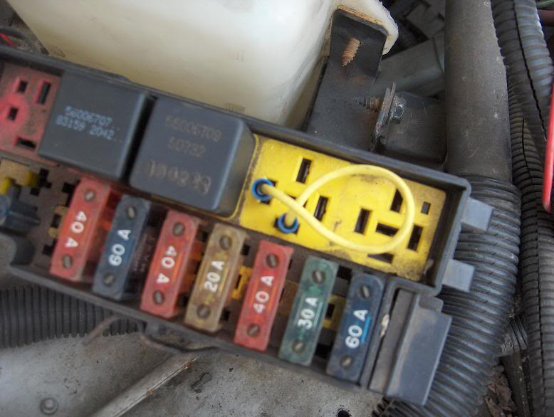 Peterbilt 379 Fuse Box Only Can Start Jeep With Jumping Starter Relay Help Jeep