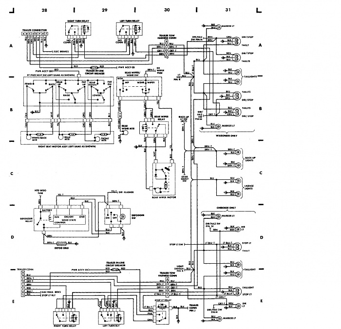 1987 Jeep Grand Wagoneer Wiring Diagram, 1987, Free Engine
