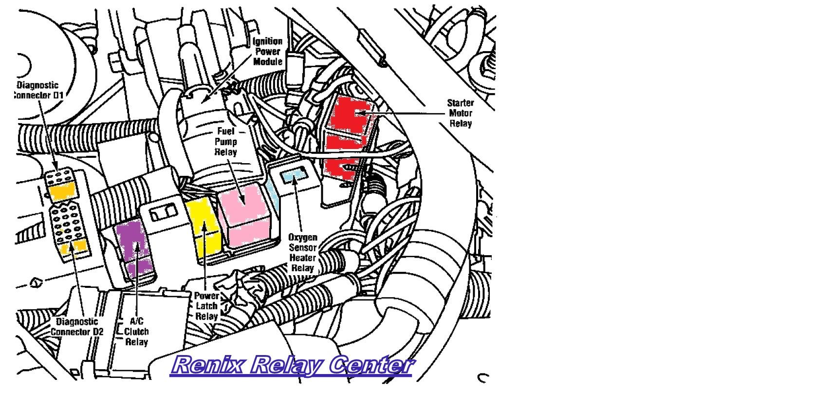 hight resolution of 89 4 0 fuel pump problem renix relay center jpg