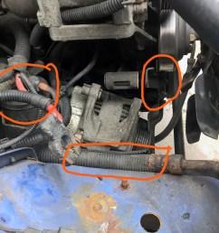 96 alternator removal issues jeep cherokee forum96 alternator removal issues alt1 jpg [ 2000 x 1125 Pixel ]