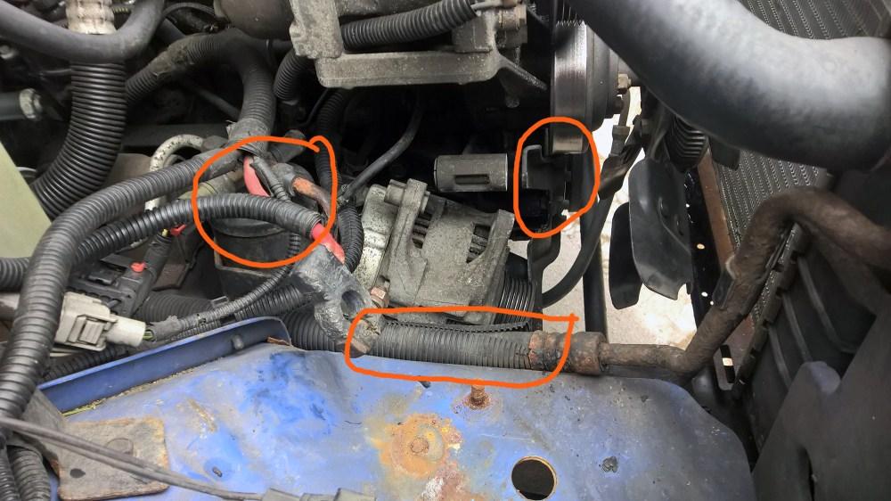 medium resolution of 96 alternator removal issues jeep cherokee forum96 alternator removal issues alt1 jpg