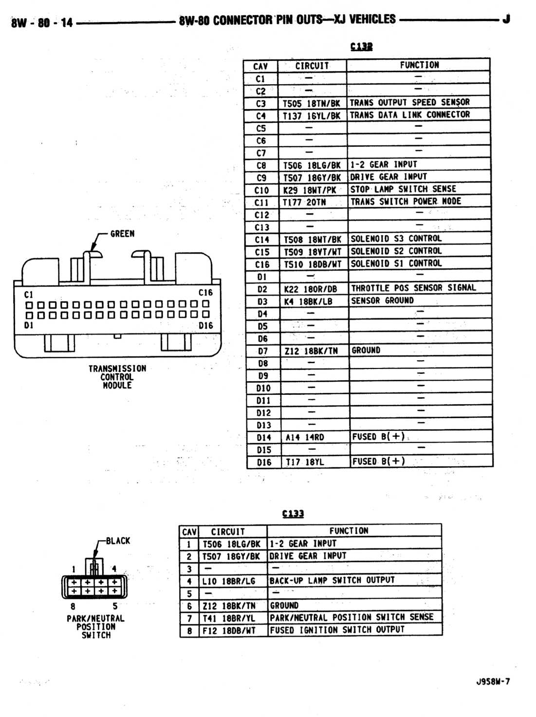 wiring diagram grand cherokee
