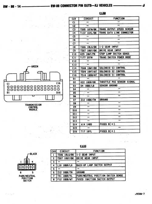 small resolution of 2000 jeep xj aw4 wiring wiring diagram name 2000 jeep xj auto trans wiring wiring diagram