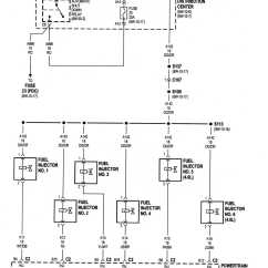 1996 Jeep Cherokee Pcm Wiring Diagram Fender Strat Pickup Not Getting Power To Fuel Injector From