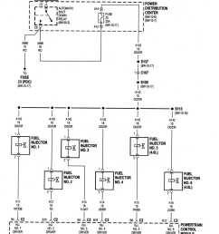 not getting power to fuel injector from pcm jeep cherokee forum jeep cherokee 4 0 fuel injectors on jeep liberty cylinder diagram [ 1121 x 1427 Pixel ]