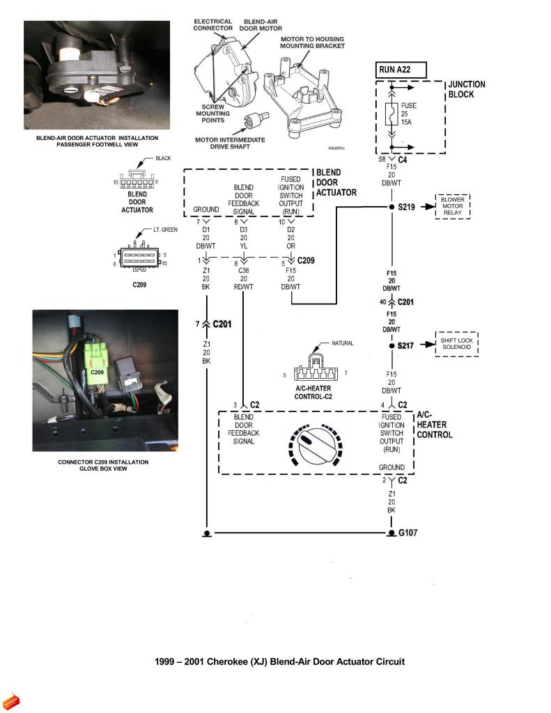 2001 Jeep Heater Control Diagram - wiring diagram on the net Air Bag Wiring Diagram For Jeep Cherokee on