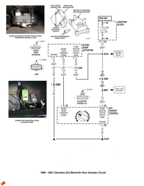 small resolution of climate control in 2001 cherokee sport jeep cherokee forum 2001 jeep heater control diagram