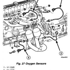 Jeep Cherokee Wiring Diagram 1996 Star Delta Control Panel 2001 Downstream Exhaust Sensors - Forum