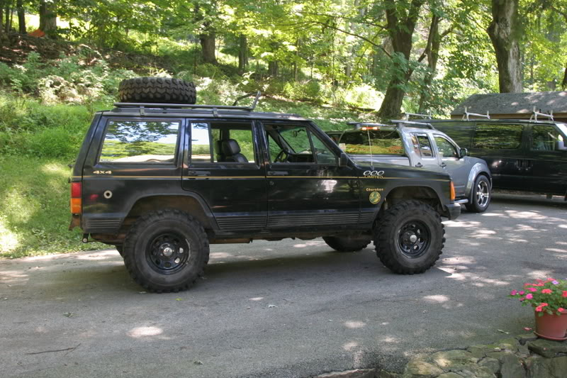 Roof mounted spare tire rack