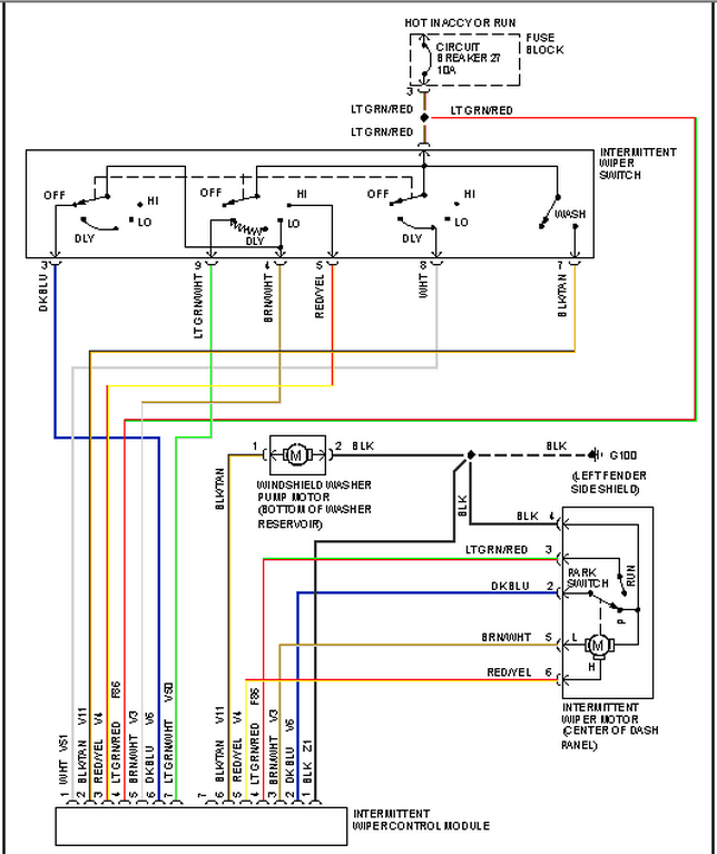 Jeep 2010 Diagram Wiring Cherokee Grand
