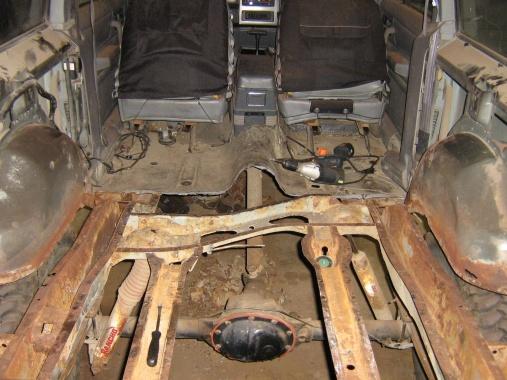 Rear Floor Pan Replacement Jeep Cherokee Forum