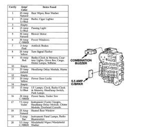 fuse diagram  Page 6  Jeep Cherokee Forum