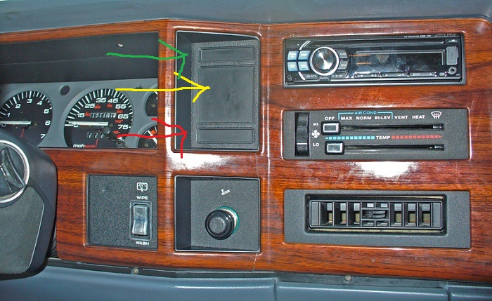 1996 Jeep Lighting System