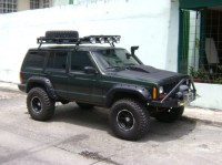 Roofs: Jeep Cherokee Roof Rack