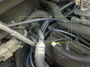Vacuum leak under hood  Jeep Cherokee Forum