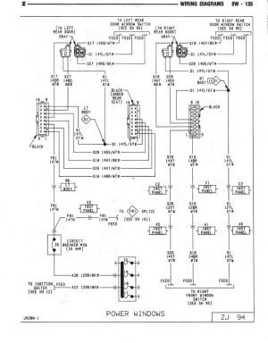 window switch  wiring diagram or info  Jeep Cherokee Forum