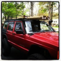 home brew EMT roof rack - Page 6 - Jeep Cherokee Forum
