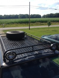 First fab, roof rack - Jeep Cherokee Forum