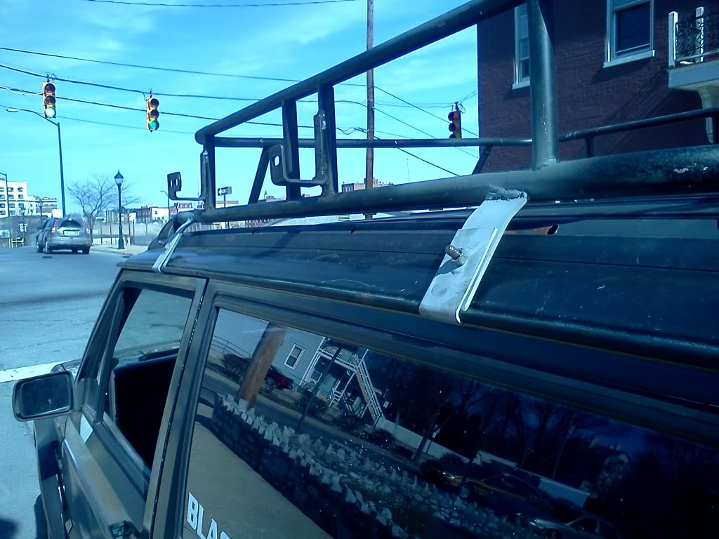 EMT Conduit Roof Rack Build