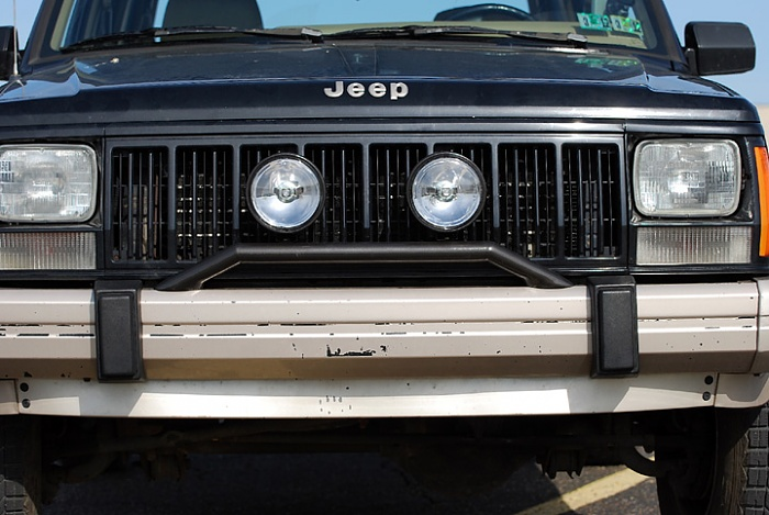 Homebrew Light Bar for Stock Bumper  Jeep Cherokee Forum