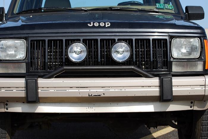 Homebrew Light Bar For Stock Bumper Jeep Cherokee Forum